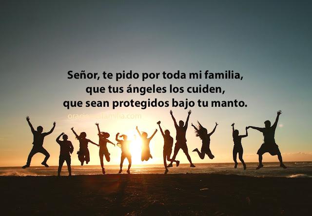Oración corta de protección para la familia, linda plegaria por mis hermanos, hijos, padres