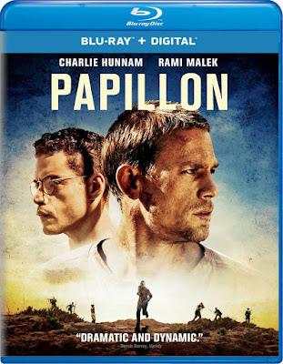 Papillon 2017 Blu Ray