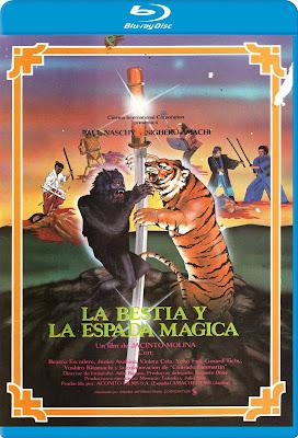 La bestia y la espada mágica [1983] [BD25] [Spanish]