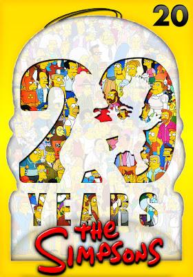 The Simpsons (TV Series) S20 DVD R1 NTSC Latino 4DVD