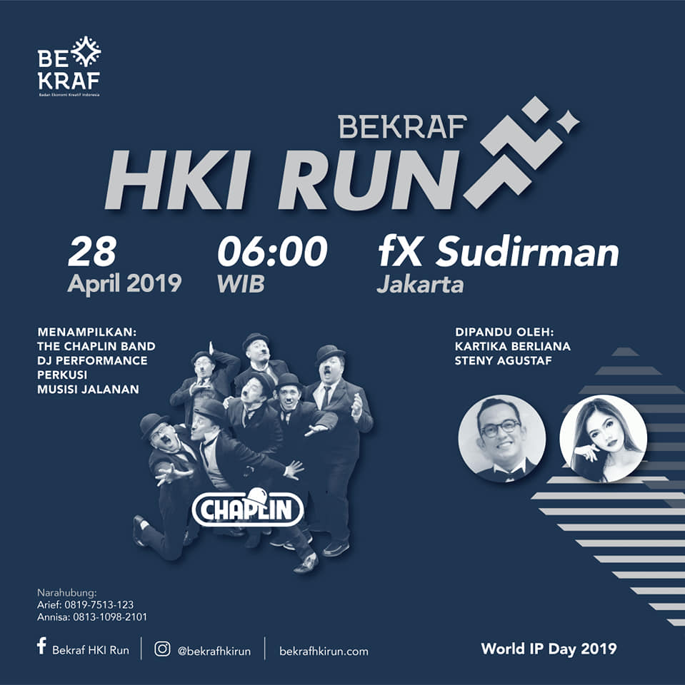 Bekraf HKI Run • 2019
