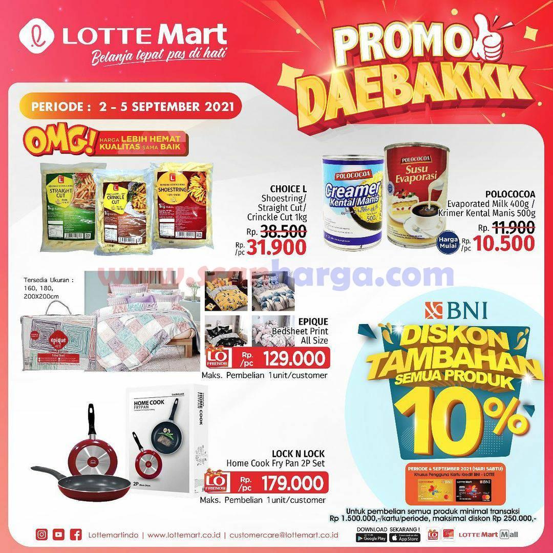 Katalog Promo Lottemart Weekend 2 - 5 September 2021 5