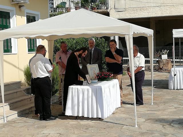Ο νέος Πρόεδρος του Δ.Δ. Πυργέλας Αντώνης Λαμπρόπουλος ανάλαβε τα καθήκοντά του