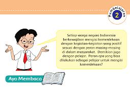 Kunci Jawaban Kelas 5 Tema 7 Subtema 3 Pembelajaran 2