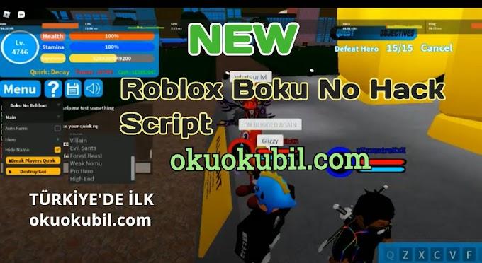 Roblox Boku No Farm Script Hilesi İndir Ekim 2020