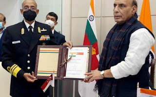 Pact Signed for Submarine Rescue Report—By India and Singapore