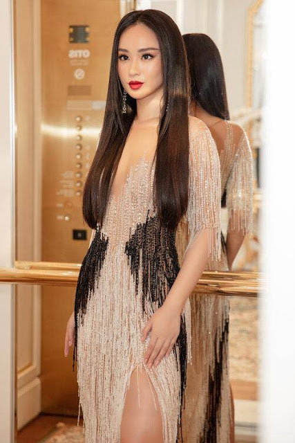 Hé lộ danh tính người đẹp đấu giá váy 9.000 USD của Hoa hậu Khánh Vân để làm từ thiện