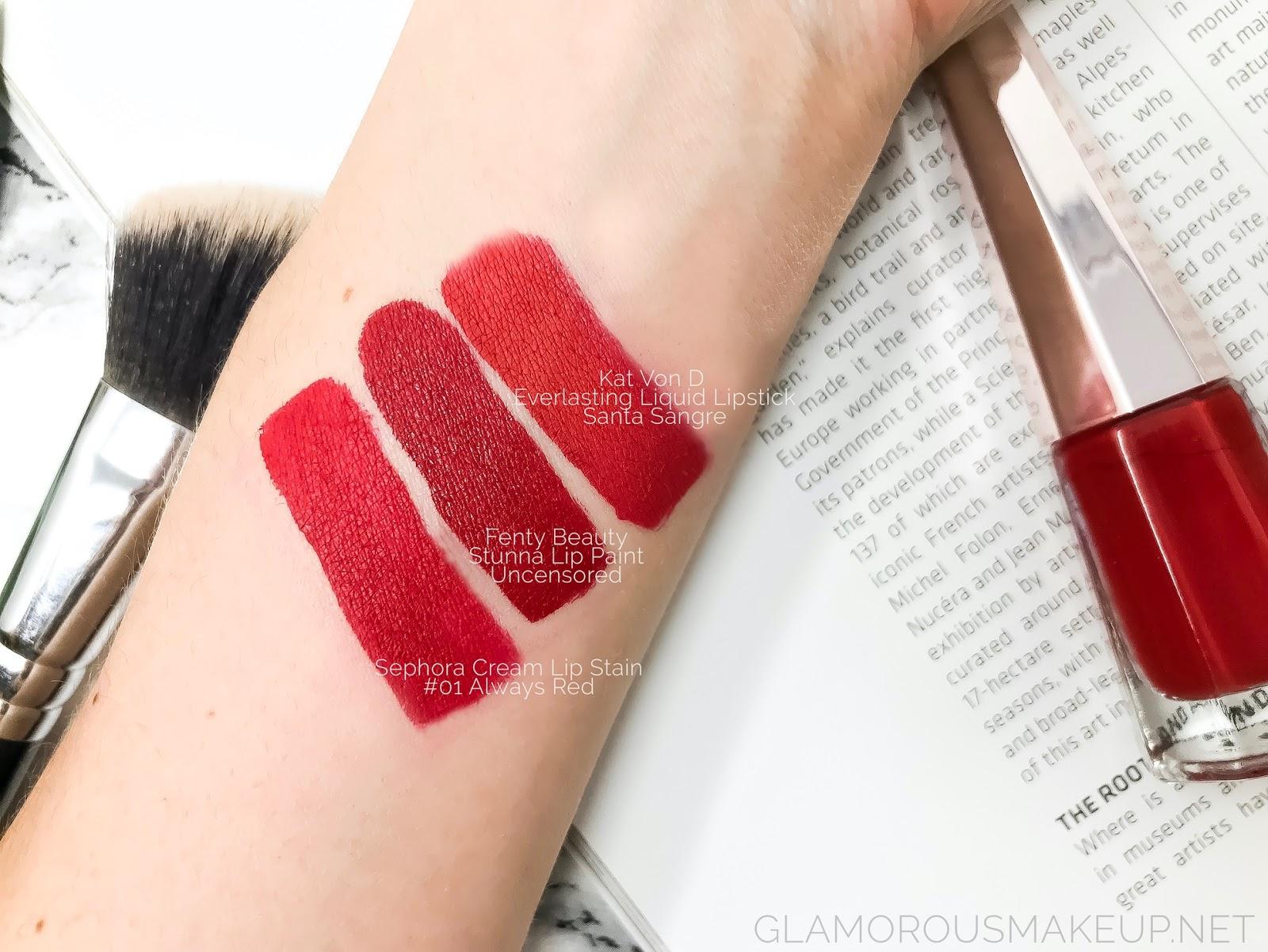 Stunna Lip Paint Longwear Fluid Lip Color by Fenty Beauty #11