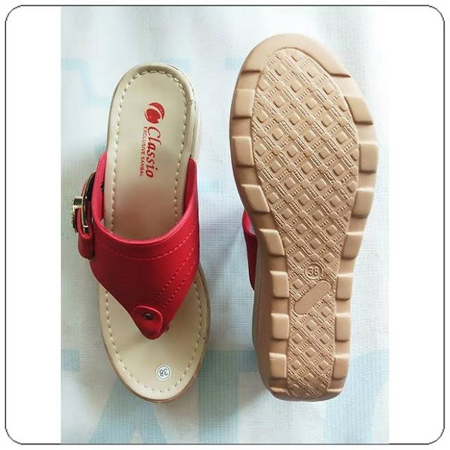 Sandal Wedges CPC Wanita