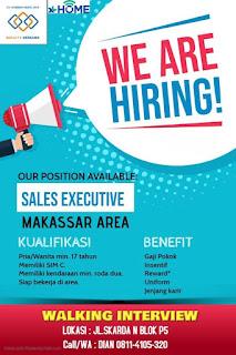 Lowongan Kerja Sales Executive XL Home