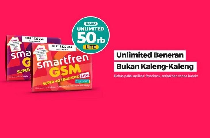 Smartfren Unlimited Lite 50 Rb
