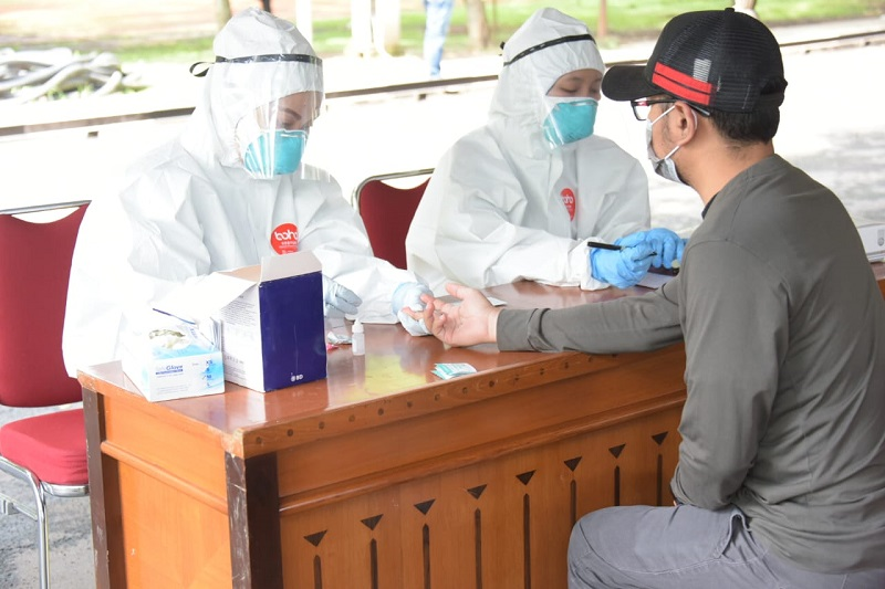 Pemdaprov Jabar Intensifkan Rapid Test Selama Penerapan PSBB