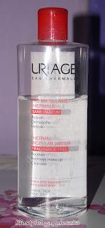 Recenzja: Woda micelarna od Uriage