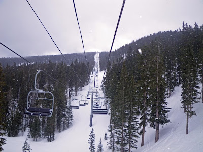 Ski lift, Santa Fe ski resort