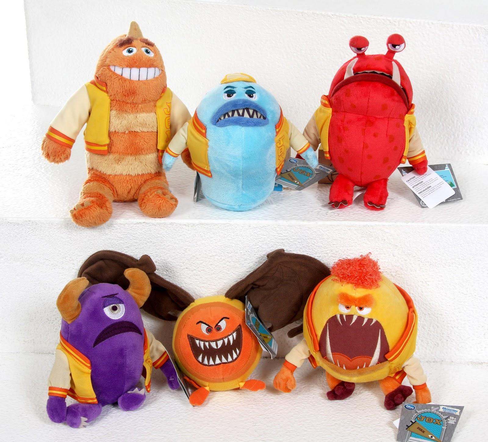 monsters university disney store JOX plush