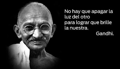 Frase de Gandhi