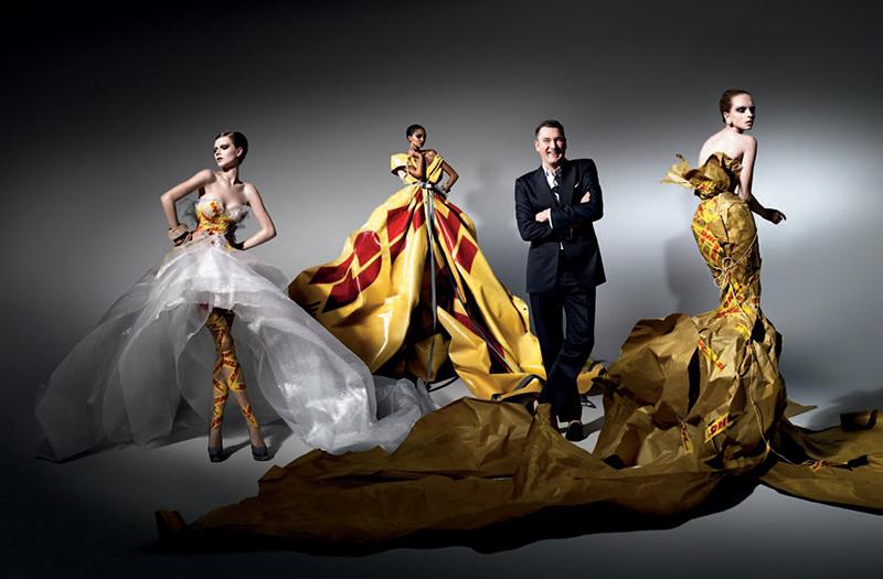 DHL Delivers Haute Couture