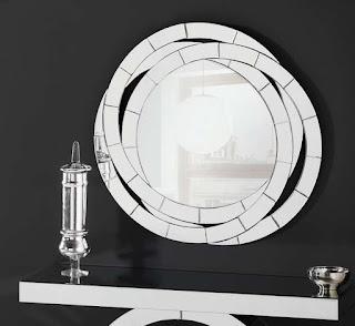 Espejo Cristales Cortados Aros Cohen