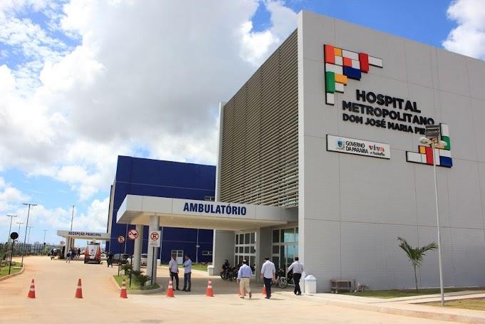 GOVERNO DA PARAÍBA: Hospital Metropolitano realiza mais de cinco mil procedimentos cardíacos em oito meses de funcionamento.