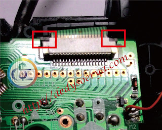 Service Stik PS2 Tidak Conect (indicator menyala)