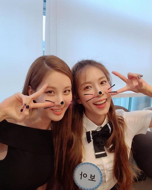 SNSD Seohyun with Boa
