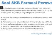 Soal SKB Formasi Perawat CPNS 2019-2020