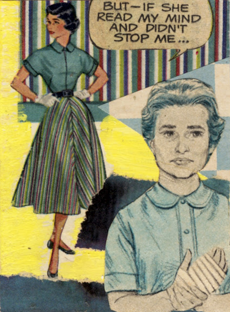 Life of a 50s housewife collages