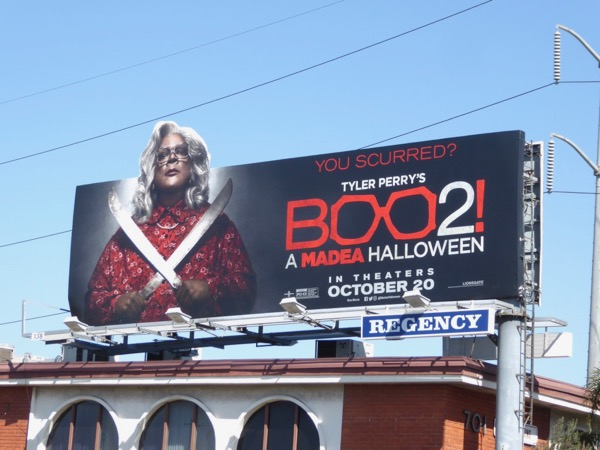 Boo 2 Madea Halloween special cut-out billboard