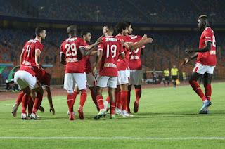 أهداف مباراة الأهلي 2-0 وادي دجلة بتاريخ 2020-09-04 الدوري المصري