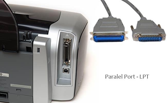 paralel port lpt yazıcı