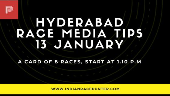 Hyderabad Race Media Tips, india race media tips