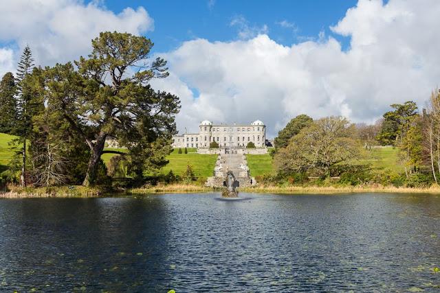 Palacio de Powerscourt en Irlanda