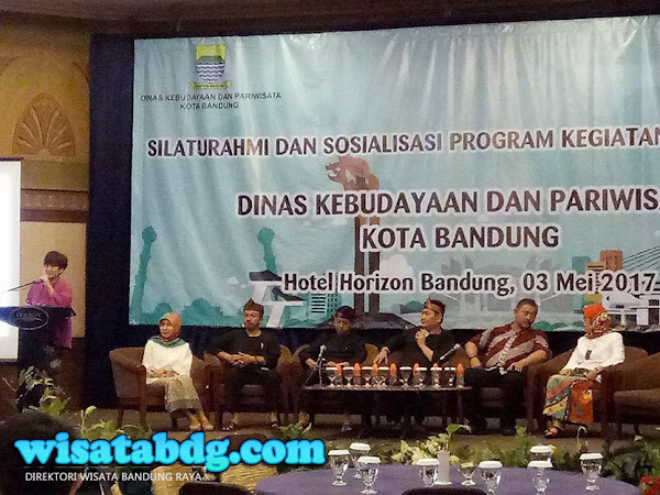 Silaturahmi Disbudpar Kota Bandung di Hotel Horison