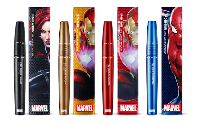 The Face Shop X Marvel 2 in 1 Curling Mascara