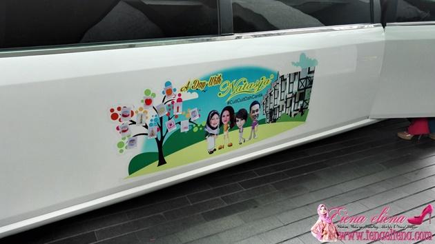 Blogger Bersiar Menaiki Limousine