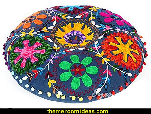 ROUND DECORATIVE FLOOR CUSHION