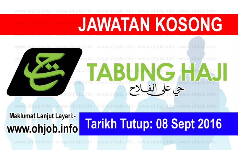 Jawatan Kerja Kosong Lembaga Tabung Haji (TH) logo www.ohjob.info september 2016