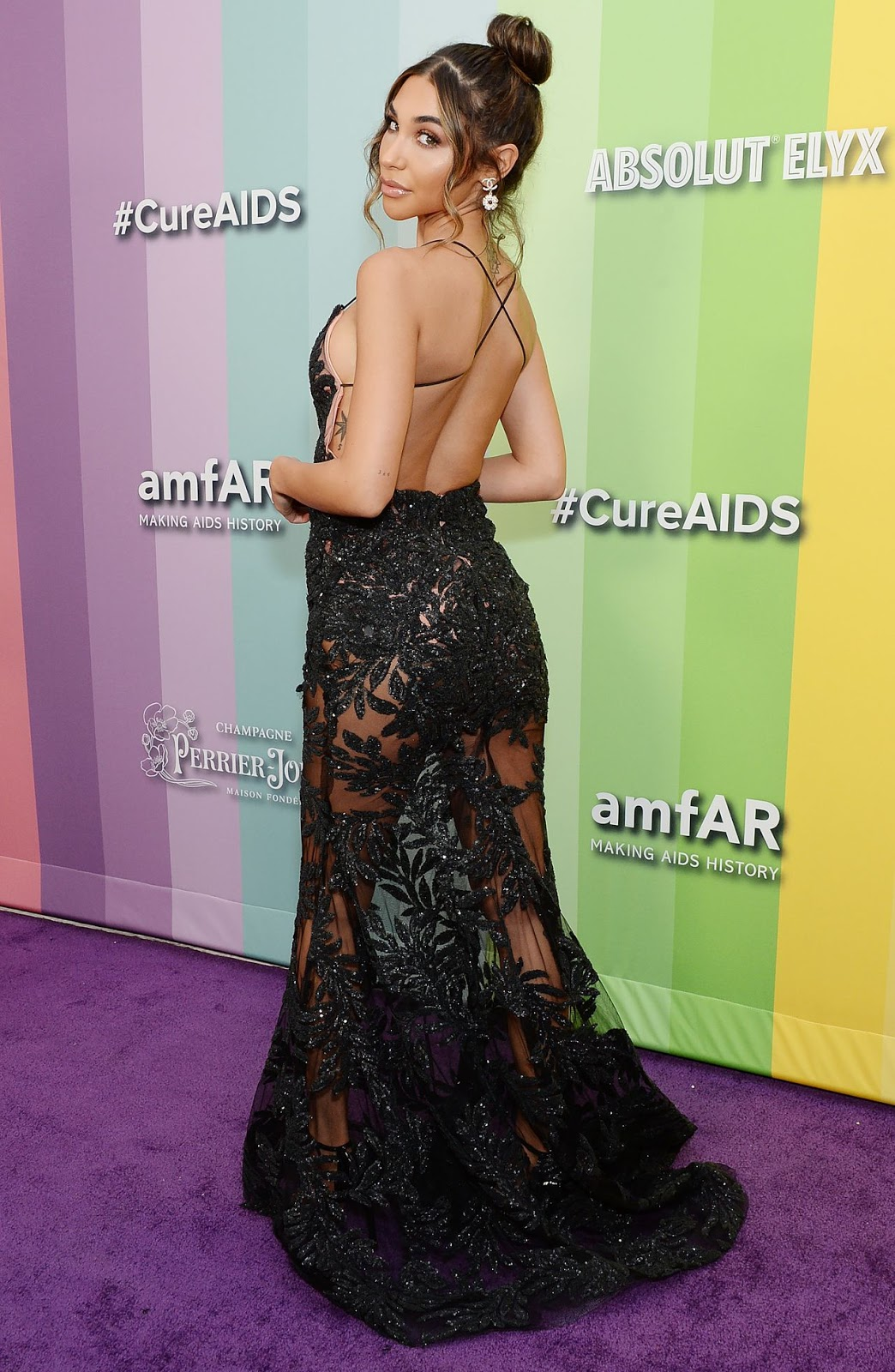 Chantel Jeffries – 2019 amfAR Gala at Milk Studios in Los Angeles