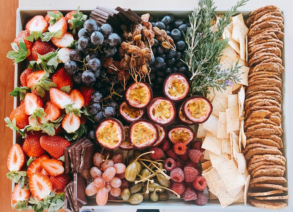 wedding grazing tables boards platters catering food