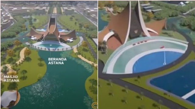 Inikah Desain Istana Presiden di Ibu Kota Baru yang Akan Dibangun Tahun Ini?