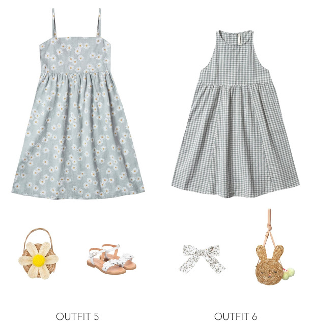 2 trendy easter outfit dress ideas for girls