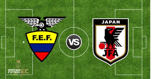 hora partido Ecuador vs Japon