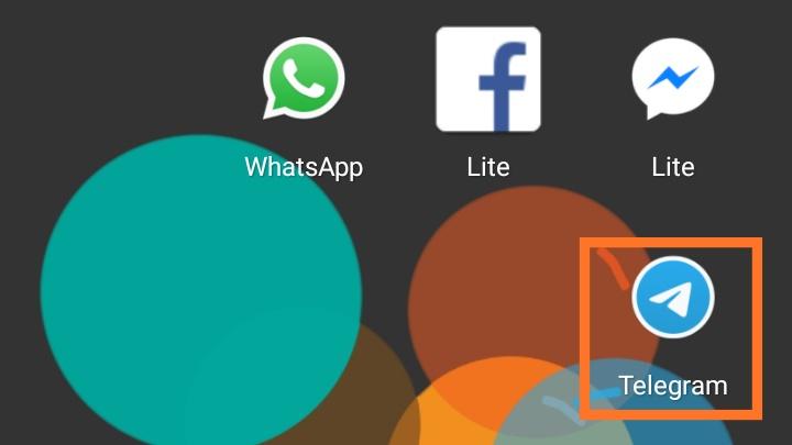 cara membuat link telegram di instagram