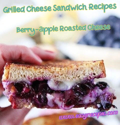 Grilled Cheese Sandwich Recipe - Berry-Apple Roasted Cheese