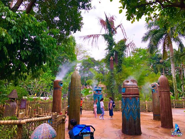 歡迎探險家重臨香港迪士尼樂園「歷奇噴水池」, Hong Kong Disneyland, Liki Tikis