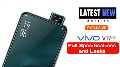 Vivo V17 Pro Full Specifications