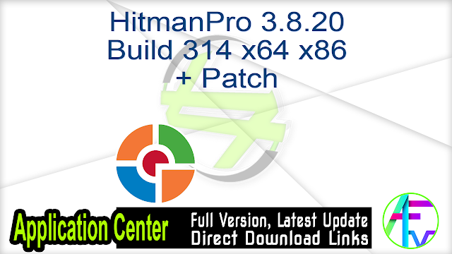 HitmanPro 3.8.20 Build 314 x64 x86 + Patch