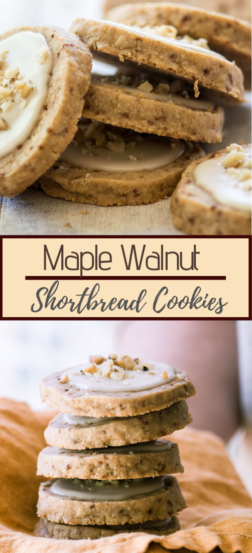 Maple Walnut Shortbread Cookies #dessertrecipe #chocolatecake #cheesecake #cookiessimplerecipe