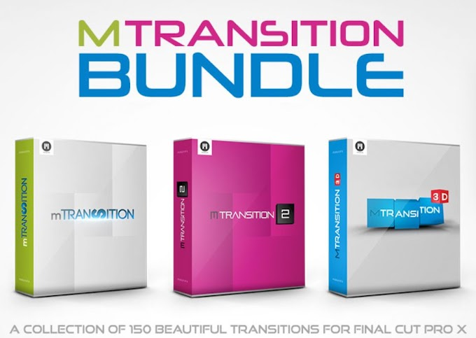 mTransition Bundle - 150 FCPX Transitions[Final Cut Pro X][MotionVFX]