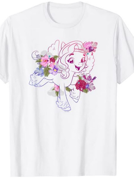 My Little Pony: A New Generation Princess Pipp Stickers T-Shirt